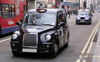 We have various types of taxi available as replacement vehicles.